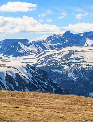 Photograph - Summer Light On Beartooth Mountain Range by Dan Sproul