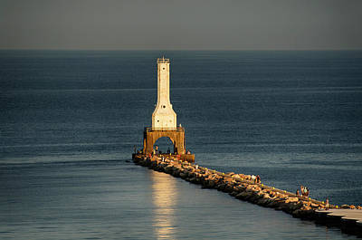 Photograph - Summer Lighthouse by Dan Hefle