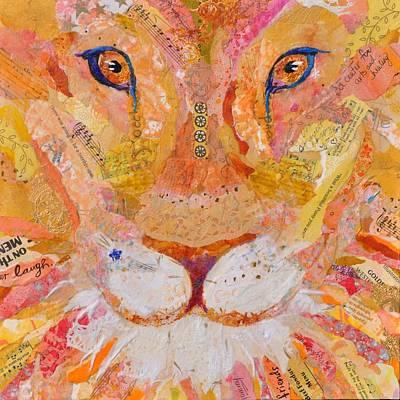 Summer Lion Original by Jane Rochelle