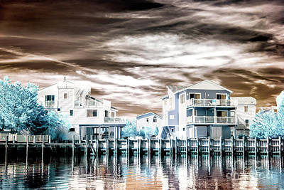 Photograph - Summer Living At Long Beach Island Infrared by John Rizzuto