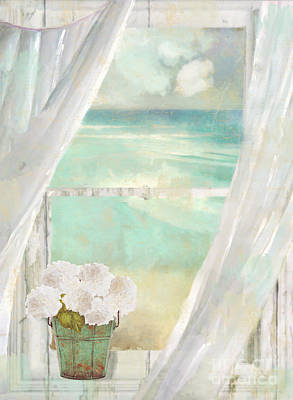 Sea View Painting - Summer Me by Mindy Sommers
