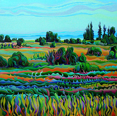 Summer Meadow Dance Art Print