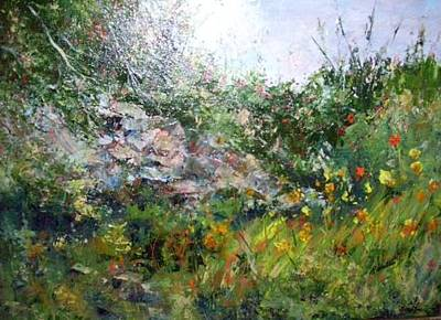 Painting - Summer Meadows by Barbara Walter