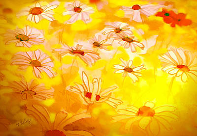 Painting - Summer Meadows-floral Painting By V.kelly by Valerie Anne Kelly