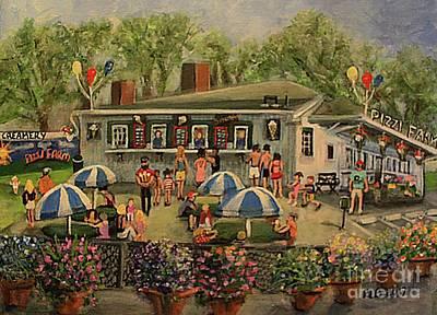 Painting - Summer Memories At Pizzi Farm by Rita Brown