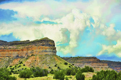 Photograph - Summer Mesas by Jan Amiss Photography