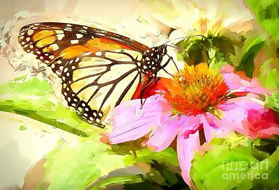 Photograph - Summer Monarch by Tina LeCour