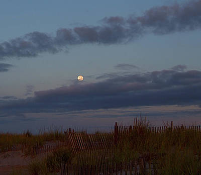 Photograph - Summer Moon I I by Newwwman