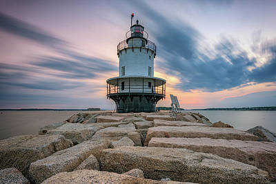 Photograph - Summer Morning At Spring Point Ledge by Rick Berk