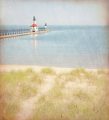 Photograph - Summer Morning At St Joseph Lighthouse by Dan Sproul