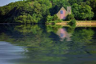 Photograph - Summer Morning At The Old Stone Church by Rick Berk