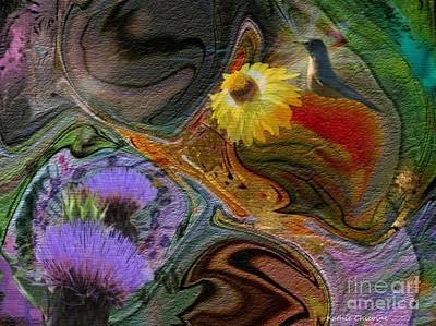 Digital Art - Summer Morning by Kathie Chicoine