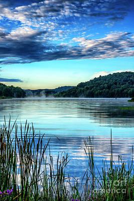 Summer Morning On The Lake Art Print by Thomas R Fletcher