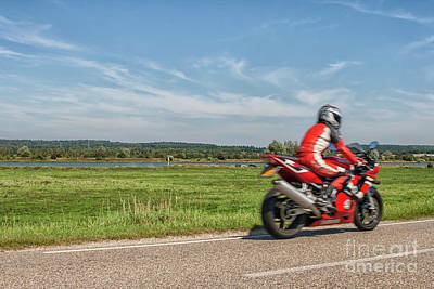 Photograph - Summer Motorbike Ride by Patricia Hofmeester