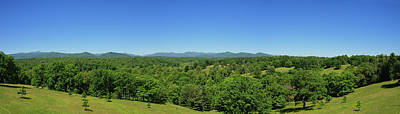 Photograph - Summer Mountain Panorama by Jill Lang