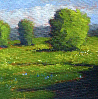 Painting - Summer by Nancy Merkle