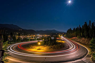 Photograph - Summer Night Above Breckenridge by Michael J Bauer