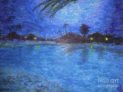 Pastel - Summer Night by Chitra Helkar