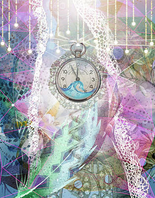 Digital Art - Summer Nights by Linda Carruth
