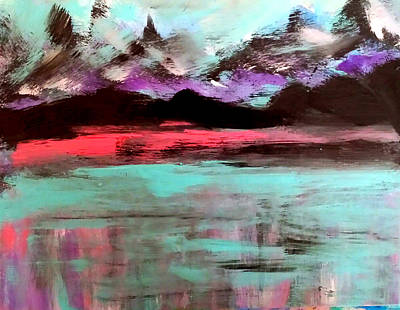 Painting - Summer Nights by Nikki Dalton