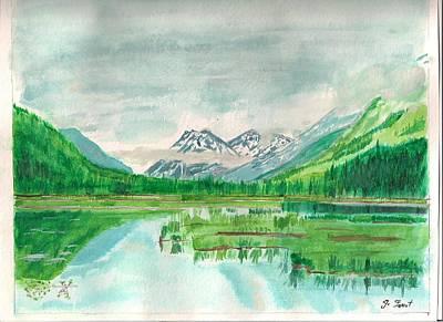 Summer Of Alaska Art Print by Jashobeam Forest