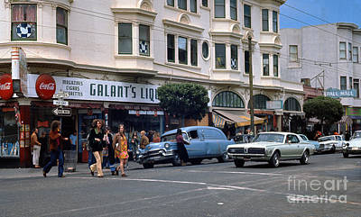 Photograph - Summer Of Love, Haight-ashbury San Francisco by Wernher Krutein