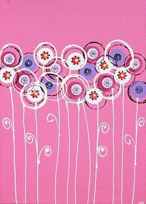 Joy Mixed Media - Summer Of Love I by Graciela Bello