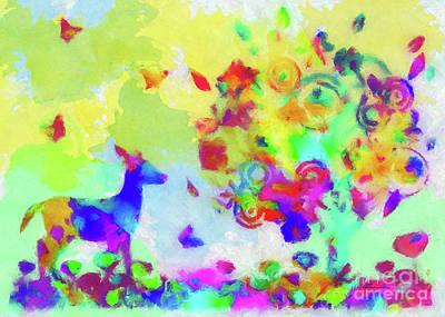 Painting - Summer by Olga Hamilton