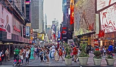 Photograph - Summer On 42nd Street by Joan Reese