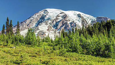 Photograph - Summer On Mount Rainier by Pierre Leclerc Photography