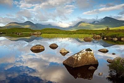 Digital Art - Summer On Rannoch Moor by Stephen Taylor