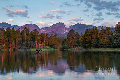 Photograph - Summer On Sprague Lake by Ronda Kimbrow