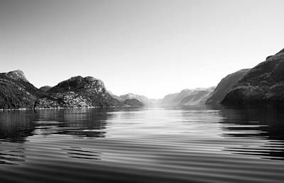 Summer On The Fjord. Original by Terence Davis
