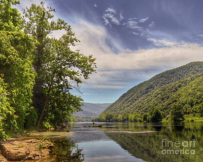 Photograph - Summer On The New River by Kerri Farley