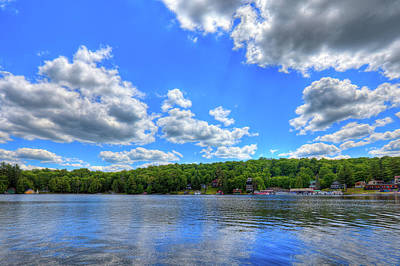 Boats Photograph - Summer On The Pond by David Patterson