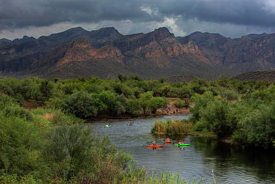 Photograph - Summer On The River by Sue Cullumber