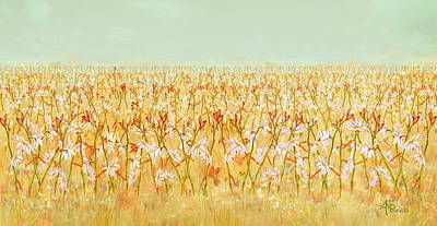 Primavera Painting - Summer Outbreak by Angeles M Pomata