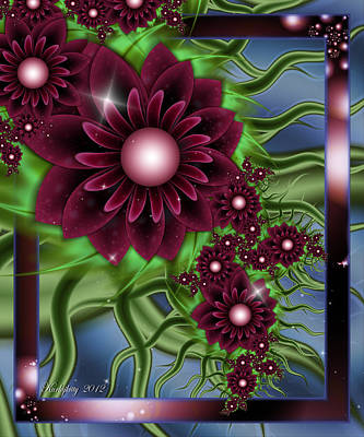 Digital Art - Summer Passion by Karla White