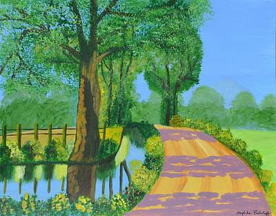 Painting - Summer Path by Magdalena Frohnsdorff