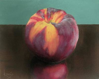 Painting - Summer Peach by Wendy Winbeckler Kanojo