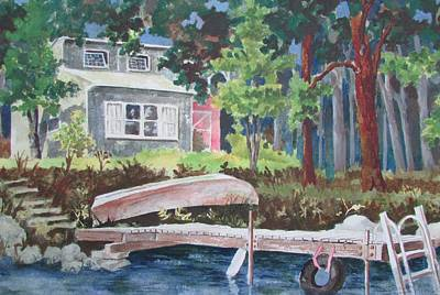 Painting - Summer Place by Tony Caviston