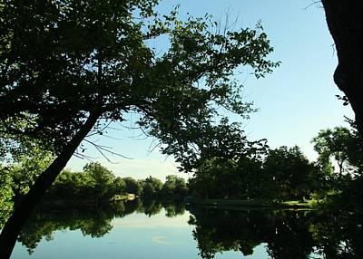 Summer Pond Original by John Adams
