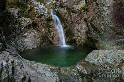 Photograph - Summer Pools by Rod Wiens
