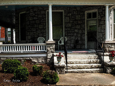 Photograph - Summer Porch by Randy Sylvia
