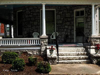 Photograph - Summer Porch by Randy Sylvia