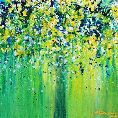 Painting - Summer Rain by Kume Bryant