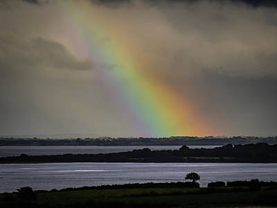 Photograph - Summer Rainbow Over Shannon Estuary by James Truett