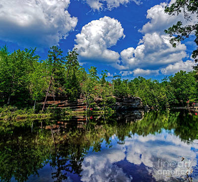 Photograph - Summer Reflection by Paul Mashburn