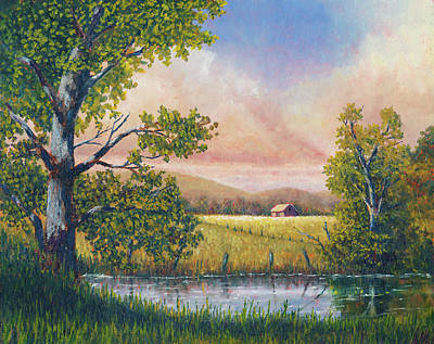 Painting - Summer Reflections by Douglas Castleman