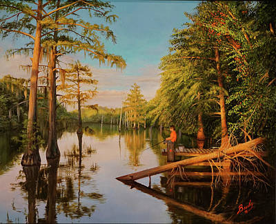 Painting - Summer Reflections by Glenn Beasley